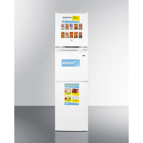 AZRF7W Refrigerator Freezer Front