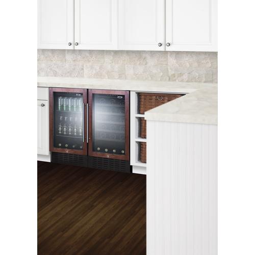 SCR1841BPNR Refrigerator Set