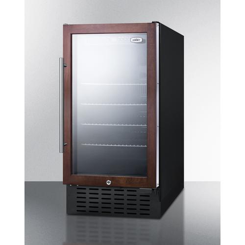 SCR1841BPNR Refrigerator Angle