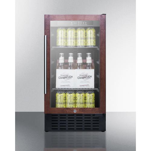 SCR1841BPNR Refrigerator Full