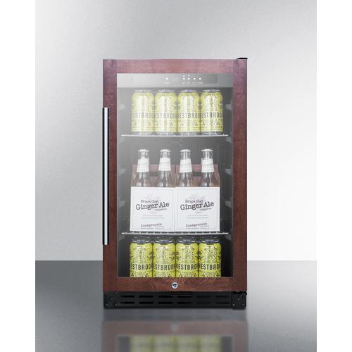 SCR1841BPNRADA Refrigerator Full