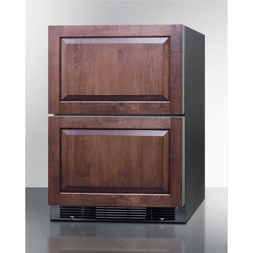 SPRF2D5PNR Refrigerator Freezer Angle