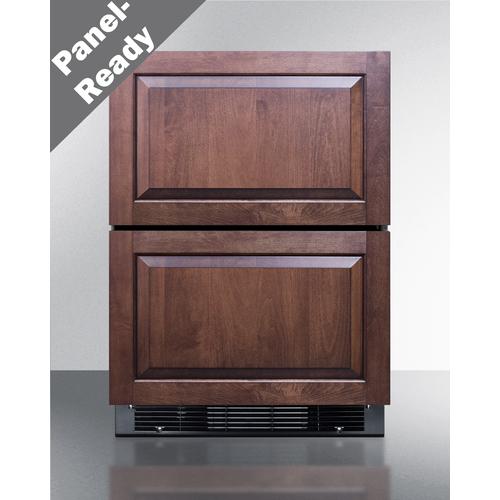 SPRF2D5PNR Refrigerator Freezer Front