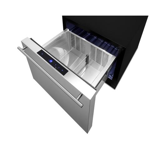 FF1DSS Refrigerator Open