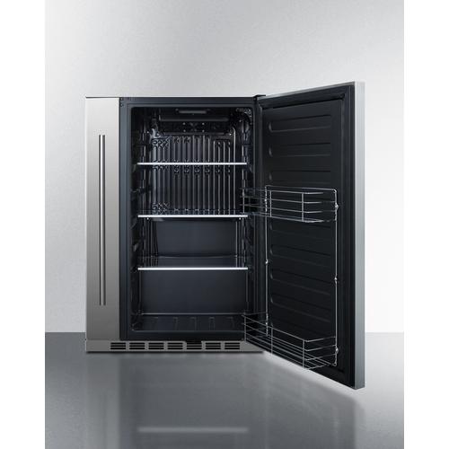 FF19524 Refrigerator Open