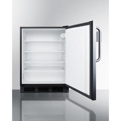 FF7BKBISSTBADASR Refrigerator Open