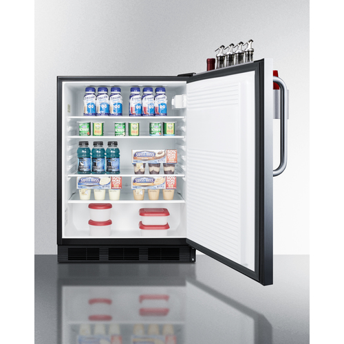 FF7BKBISSTBADASR Refrigerator Full