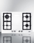 GC431W Gas Cooktop Front