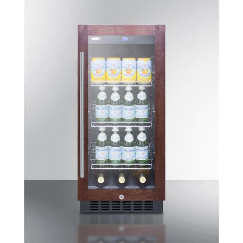 SCR1536BGPNR Refrigerator Full