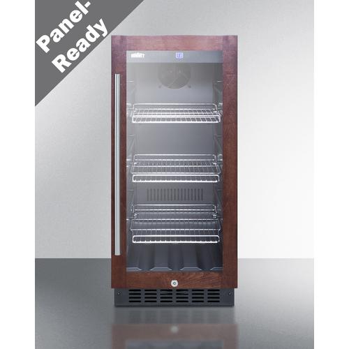 SCR1536BGPNR Refrigerator Front