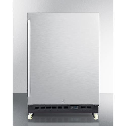 SCR610BLSDRI Refrigerator Front