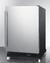 SCR610BLSDRI Refrigerator Angle