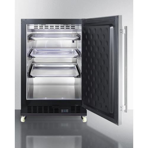 SCR610BLSDRI Refrigerator Open