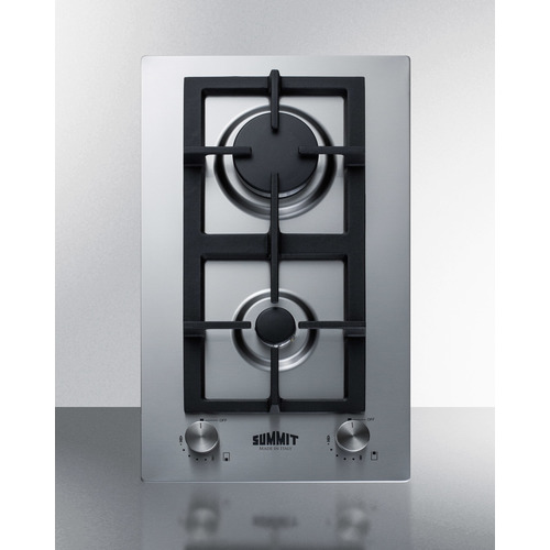 GCJ2SS Gas Cooktop Front