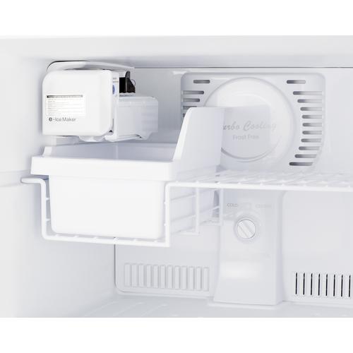 FF1293SSLIM Refrigerator Freezer Detail