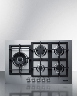 GCJ5SS Gas Cooktop Front