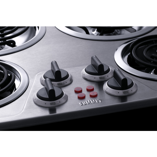 CR4SS24 Electric Cooktop Detail