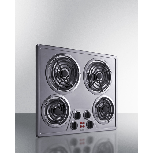 CR4SS24 Electric Cooktop Angle