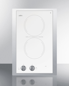 CR2220WHTK15 Electric Cooktop Front