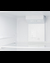 FF101W Refrigerator Freezer Detail