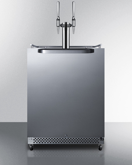 SBC696OSNCFTWIN Kegerator Front