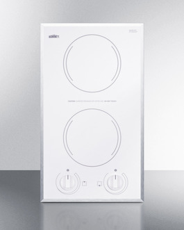 CR2115WH Electric Cooktop Front