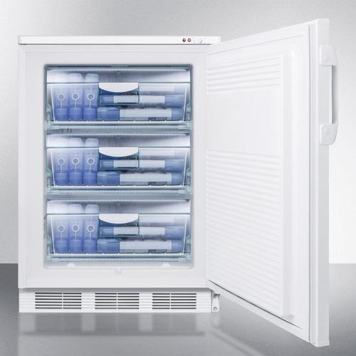 VT65ML7BI Freezer Full