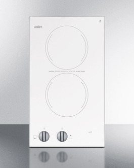 CR2220WH Electric Cooktop Front